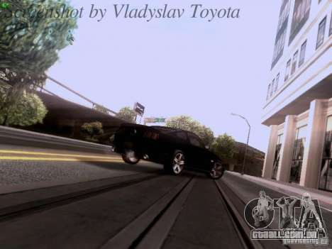 Ford Mustang GT 2011 Unmarked para GTA San Andreas vista superior