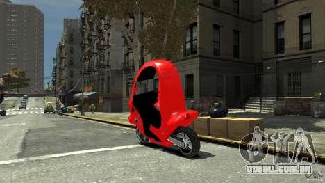 BMW C1 para GTA 4 esquerda vista