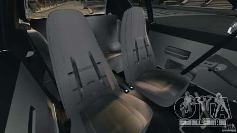AMC Gremlin 1973 para GTA 4 vista interior