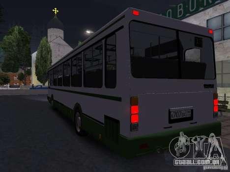 LIAZ 5256 Suburban para GTA San Andreas vista direita