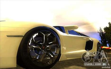 Lamborghini Aventador LP700-4 para o motor de GTA San Andreas