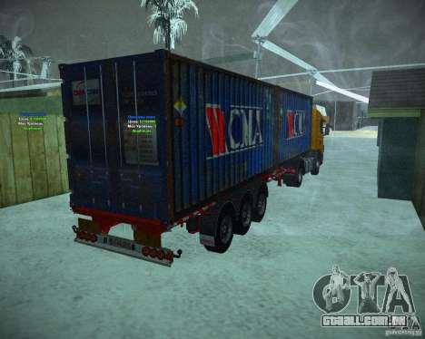 Container para GTA San Andreas