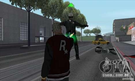 GraviPuška para GTA San Andreas quinto tela