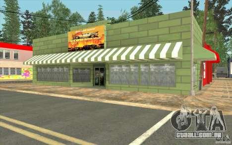 Uma aldeia nova Dillimur para GTA San Andreas décimo tela