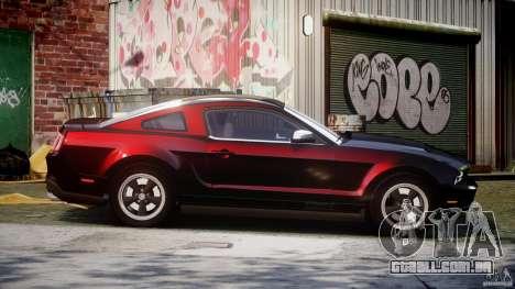 Ford Mustang V6 2010 Chrome v1.0 para GTA 4 vista lateral