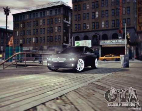 BMW 335i Coupe para GTA 4 esquerda vista