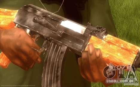 Kalashnikov HD para GTA San Andreas segunda tela