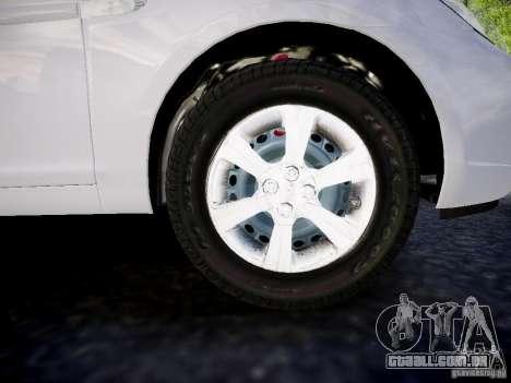 Hyundai Accent Era para GTA 4 vista direita