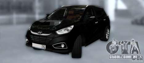 Hyundai ix35 para as rodas de GTA San Andreas
