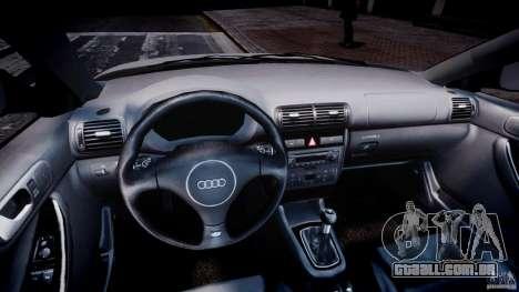 Audi A3 Tuning para GTA 4 vista de volta