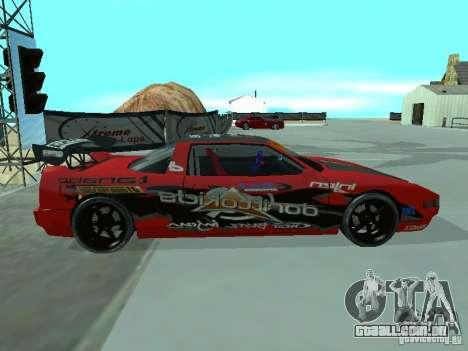 Infernus Drift Edition para GTA San Andreas esquerda vista