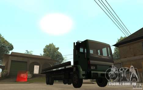 DFT30 Dumper Truck para GTA San Andreas vista traseira