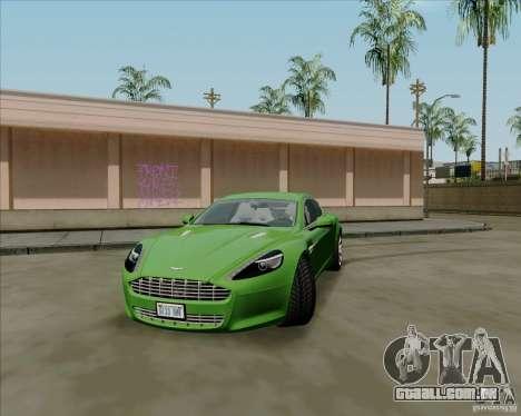 Aston Martin Rapide 2010 V1.0 para GTA San Andreas esquerda vista