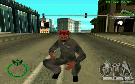 Mechanik HD Skin para GTA San Andreas quinto tela
