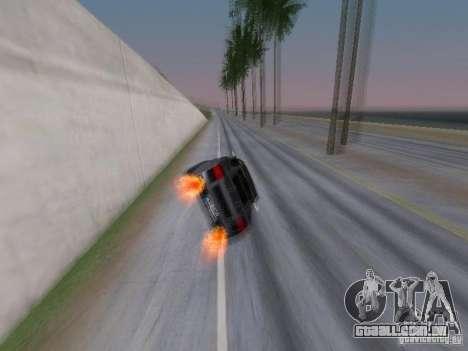 Race for NFS para GTA San Andreas segunda tela