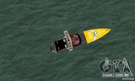 Cesa Offshore para GTA San Andreas vista direita
