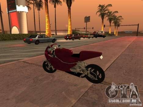 Turbine Superbike para GTA San Andreas esquerda vista