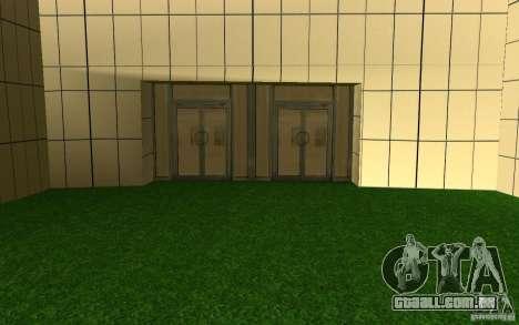 UGP Moscow New General Hospital para GTA San Andreas por diante tela