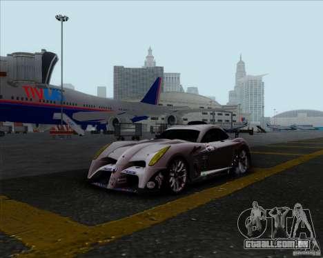 Panoz Abruzzi Le Mans V1.0 2011 para GTA San Andreas