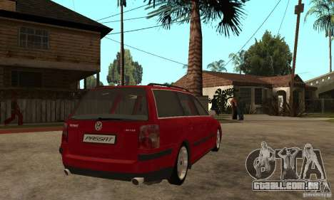 VW Passat B5 Variant para GTA San Andreas vista direita