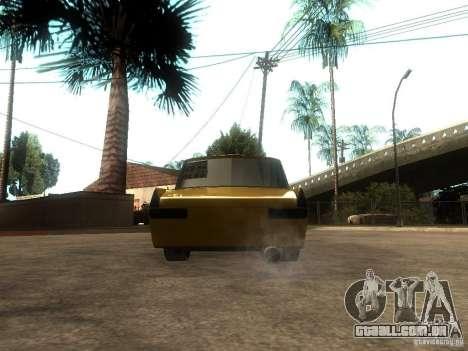 Moskvich 412 Tuning para GTA San Andreas traseira esquerda vista