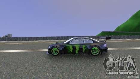 BMW M3 Monster Energy para GTA 4 esquerda vista