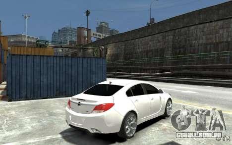 Opel Insignia OPC BETA para GTA 4 vista direita