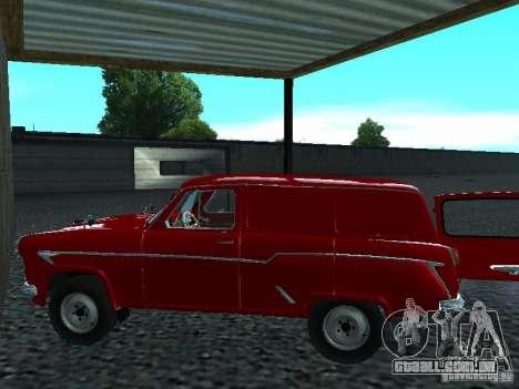 Moskvich 430 para GTA San Andreas traseira esquerda vista