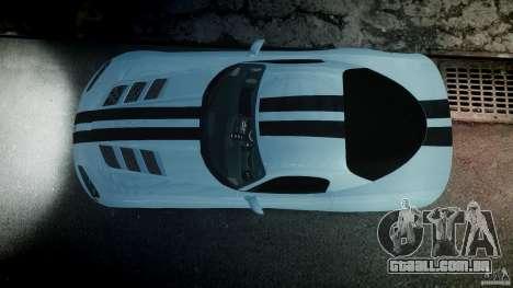 Dodge Viper SRT-10 para GTA 4 vista inferior