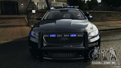 Ford Taurus 2010 Atlanta Police [ELS] para GTA 4 vista inferior