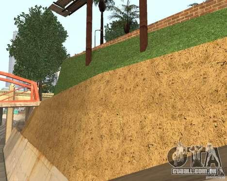 Textura da quadra de basquete para GTA San Andreas terceira tela