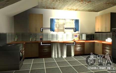 É russo Hata CJ para GTA San Andreas segunda tela