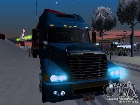 Freightliner Century para GTA San Andreas vista traseira