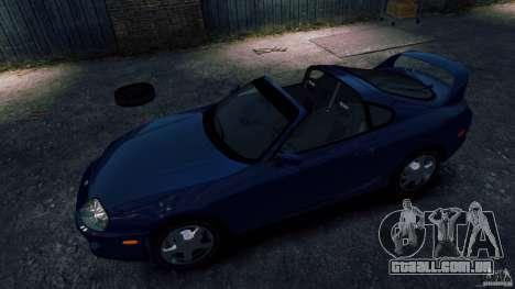 Toyota Supra RZ 1998 para GTA 4 vista direita