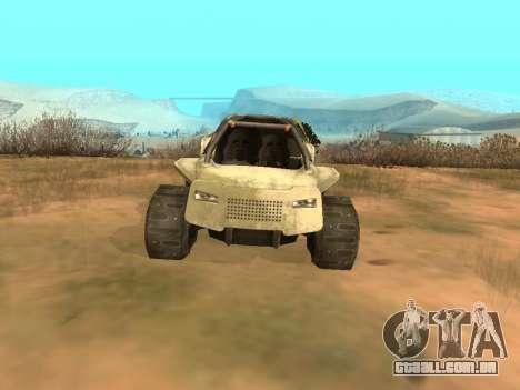 Ocelot UAZ-8 para GTA San Andreas vista direita
