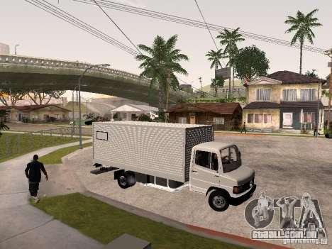Mercedes Benz 710 para GTA San Andreas vista traseira