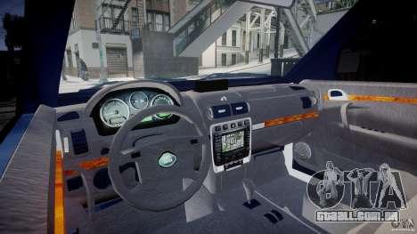 Range Rover Macedonian Police [ELS] para GTA 4 vista direita