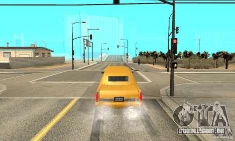 VIP TAXI para GTA San Andreas quinto tela