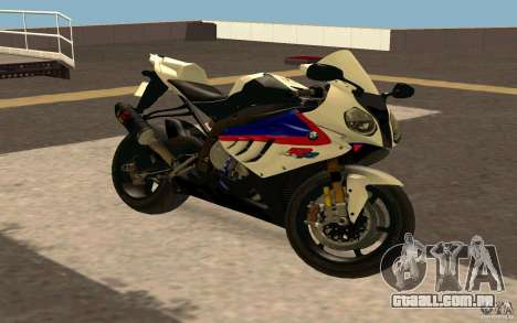 BMW S1000RR City Version para GTA San Andreas