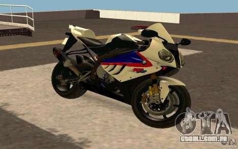BMW S1000RR City Version para GTA San Andreas