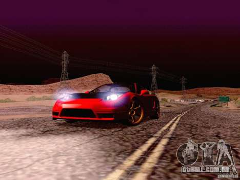 Acura NSX Stance Works para GTA San Andreas