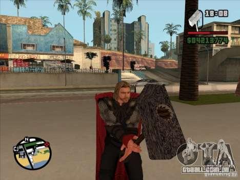 Thor para GTA San Andreas terceira tela