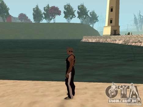 Escolher qualquer clima para GTA San Andreas por diante tela