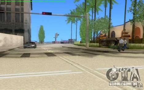 Estradas concretas de Los Santos Beta para GTA San Andreas nono tela