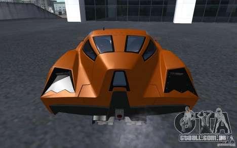 Spada Codatronca TS Concept 2008 para GTA San Andreas esquerda vista