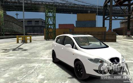 Seat Toledo para GTA 4 vista de volta