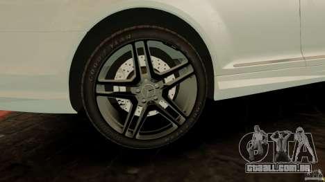 Mercedes-Benz CL65 AMG Stock para GTA 4 vista lateral