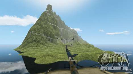 MG Downhill Map V1.0 [Beta] para GTA 4