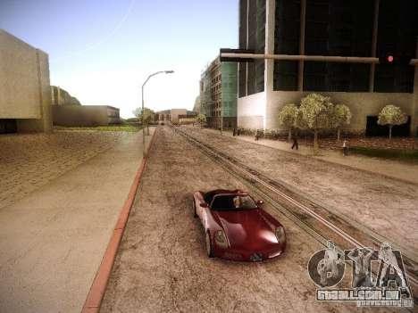 Aumento de desenho de máquinas e pedov para GTA San Andreas terceira tela