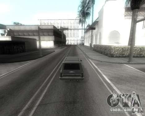 GTA SA - Black and White para GTA San Andreas quinto tela